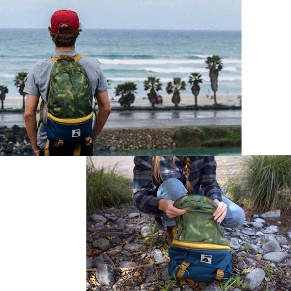POLER CAMPING STUFF(polar)TOURIST PACK帆布背包背包上學人分歧D戶外