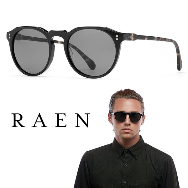 4386b0b232 RAEN(雷恩)REMMY 52 REM-017-ZPBLK RAEN optics太陽眼鏡