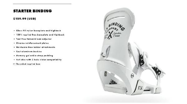 FIXBINDING(フィックス)FSK1718-002STARTERKIDS用モデルビンディング(サイズ)XXS(約〜19.5cm対応)