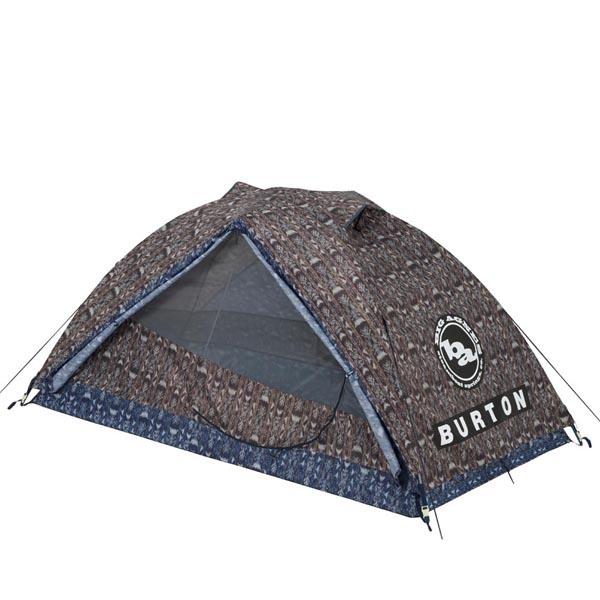 【12時までなら即日発送!】【あす楽】BURTON(バートン)BLACKTAIL 2 GUATIKAT PRINT テント 2人用 3シーズン フェス キャンプ ハイキング アウトドア