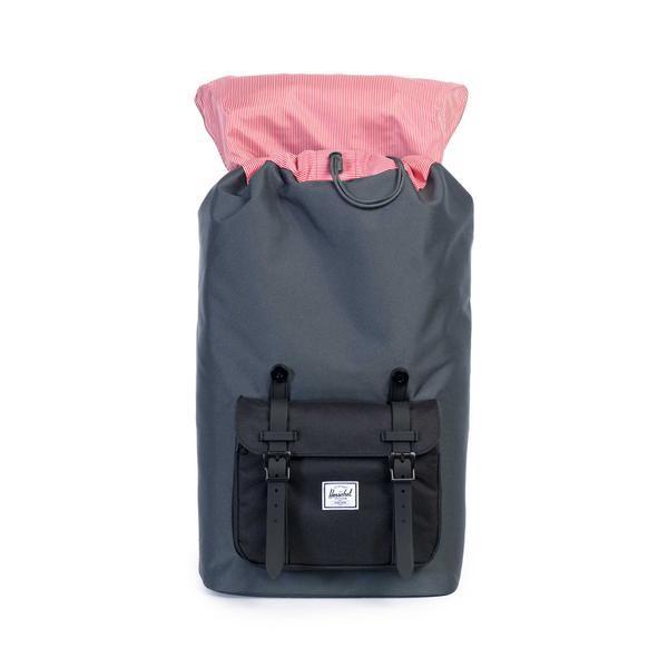HERSCHEL SUPPLY(赫謝供給)10014-00930-OS LITTLE AMERICA Dark Shadow/Black包背包帆布背包