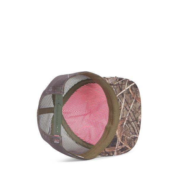 【12時までなら即日発送!】HERSCHELSUPPLY(ハーシェルサプライ)WHALERMESHREALTREECAPキャップ1047-0414-OSキャップ帽子