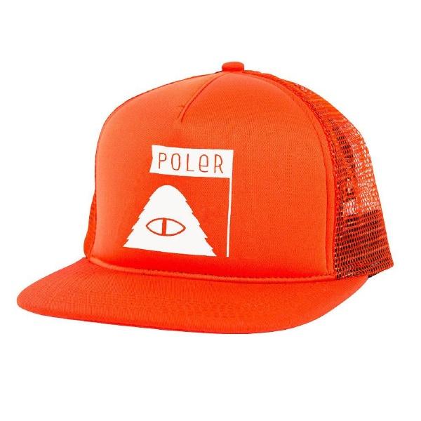 【12時までなら即日発送!】【あす楽】POLERCAMPINGSTUFF(ポーラー)SUMMITMESHTRACKERBORGサミットメッシュトラッカ−キャップメッシュキャップ帽子CAP