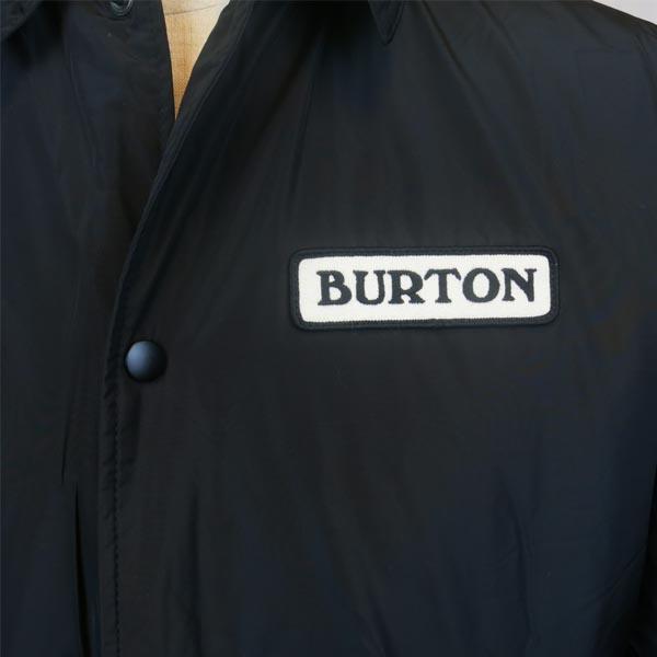 BURTON(バートン)MENSJAPANCOACHESJACKETコーチジャケットメンズスノーボードウエアウェアバートンsnowTRUEBLACK