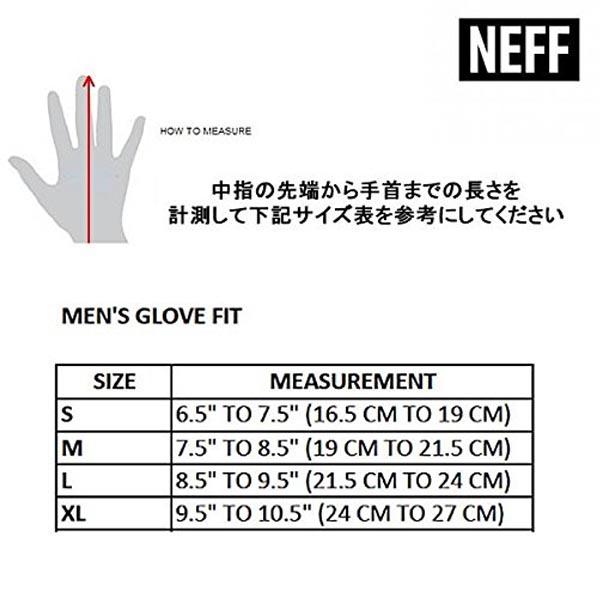 NEFF(ネフ)17F72006CHARACTERMITTKEEPキャラクターミットスノーボードスキーグローブミトンメンズ