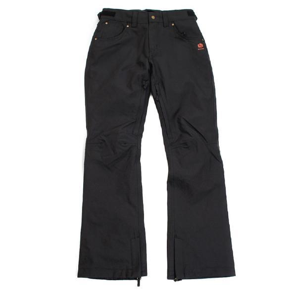 BONFIRE(ボンファイア)WOMENS EMERALD PANT W/WAIST GAITER BLACK ERGO FIT ウェア パンツ レディース スノーボード スノボー