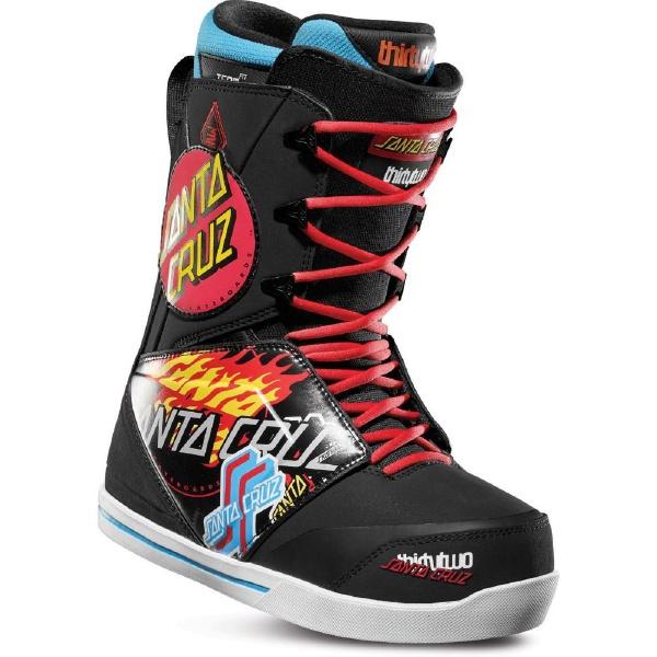 THIRTY TWO(32)SANTA CRUZ LASHED BLACK/PRINT 18-19モデル メンズ スノーボード ブーツ スノボー 靴