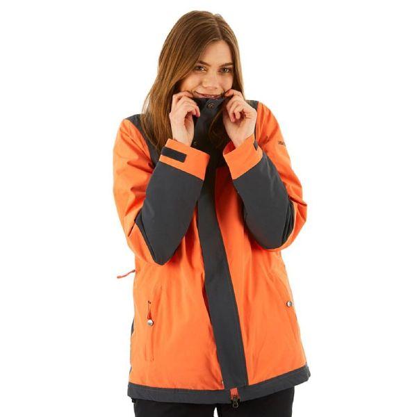NIKITA(ニキータ)W SEQUOIA JACKET SHELL CORAL/ CHARCOAL CLASSIC JACKET ウェア ジャケット レディース スノーボード スノボー