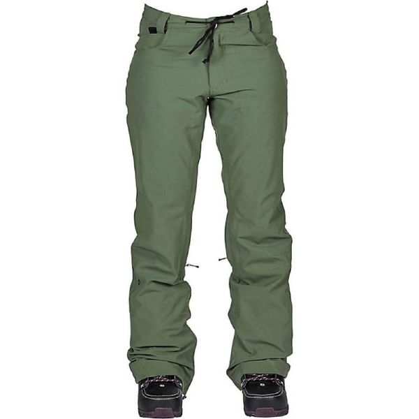 NIKITA(ニキータ)W CEDAR PANT W/ WAIST GAITER FATIGUE SLIM PANTウェア パンツ レディース スノーボード スノボー
