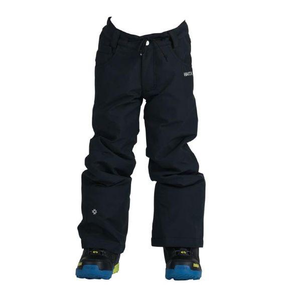 NIKITA(ニキータ)GIRLS CEDAR PANT W/ WAIST GAITER BLACK CLASSIC FIT ウェア パンツ ガールズ スノーボード スノボー