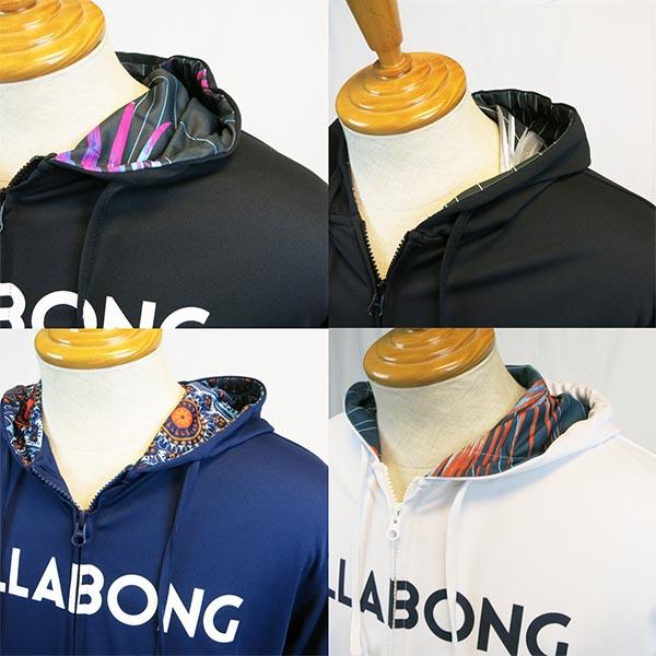BILLABONG(ビラボン)AH011856長袖フルジップラッシュパーカー日焼け防止UVカット