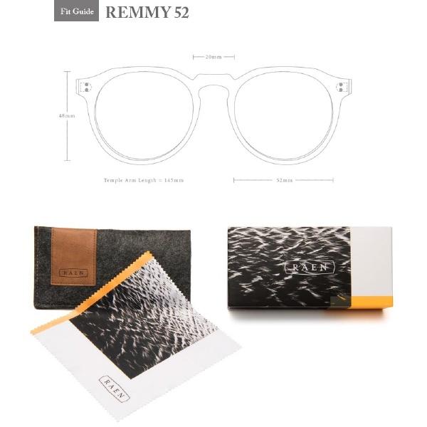 RAEN(レーン)REMMY52100U161REMカラー(MATTEASH/ACIDBROWN)レンズサイズ:52メンズレディースsunglassオシャレメガネ眼鏡