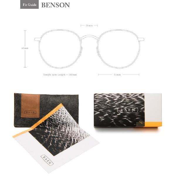 RAEN(レーン)BENSON51100U171BENカラー(BLACK/ASH/BLUE)レンズサイズ:51メンズレディースsunglassオシャレメガネ眼鏡