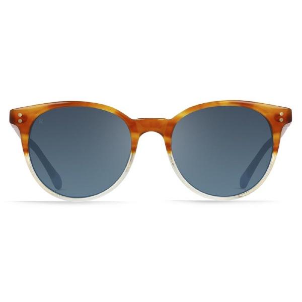 RAEN(レーン)NORIE 100U161NOR カラー(HONEY HAVANA/BLUE MIRROR) レンズサイズ:53 メンズ レディース sunglass オシャレ メガネ 眼鏡
