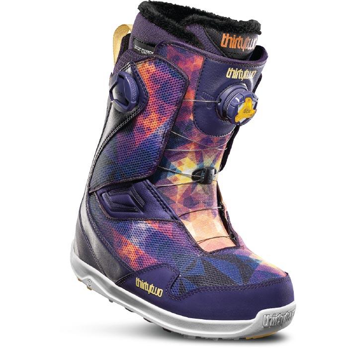 32(THIRTYTWO) THIRTYTWO32S WS TM-2 D.BOA 19PURPLE 19-20モデル レディース スノーボード ブーツ スノボー 靴