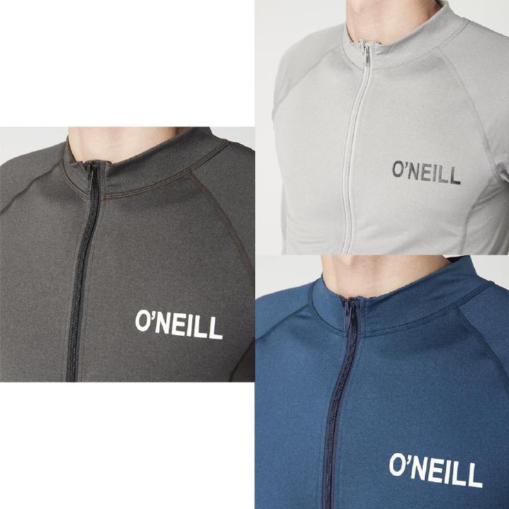 ONEILL(オニール)610472メンズラッシュガード長袖丸首ラッシュガード水着男性用サーフィンボディーボード紫外線対策UVカット日焼け防止