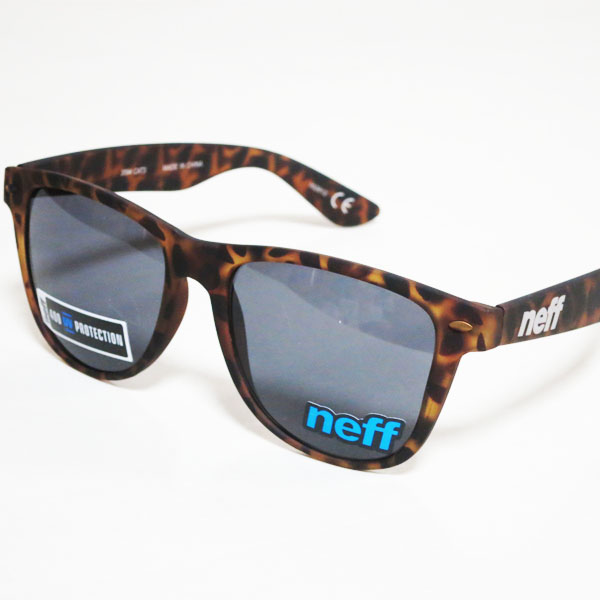 Neff Daily Sunglasses Tortoise Soft Touch HfMP4Q