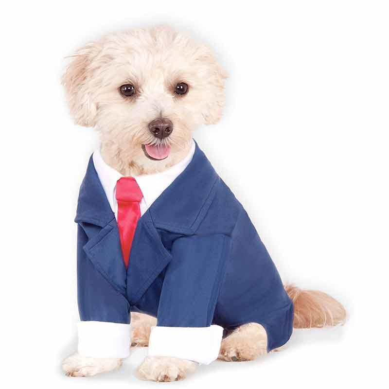 めっちゃかわいい ペット用コスチューム『ビジネスマン』