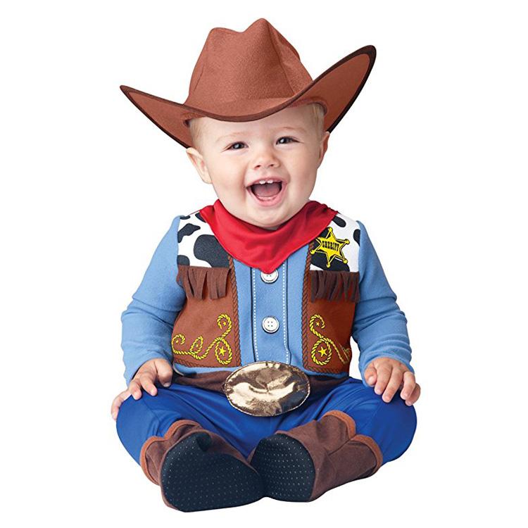 めっちゃかわいい赤ちゃん用着ぐるみ『ベイビー・カウボーイ』