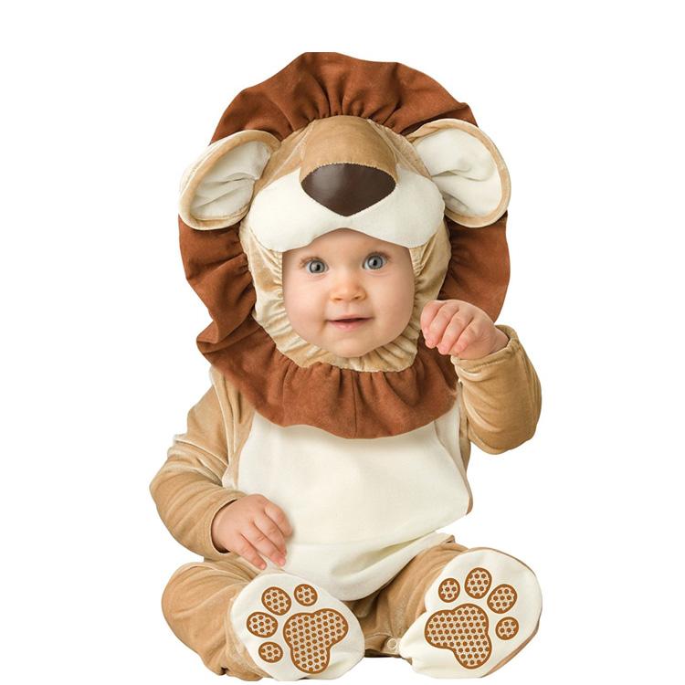 めっちゃかわいい赤ちゃん用着ぐるみ『ライオン』