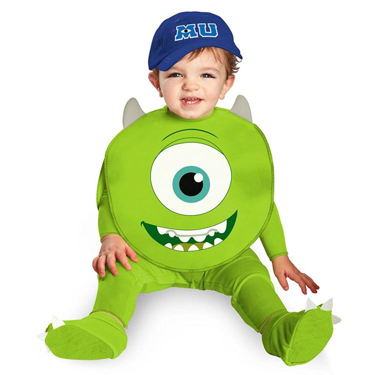 めっちゃかわいい赤ちゃん用着ぐるみ『ベイビー・モンスターマイク』