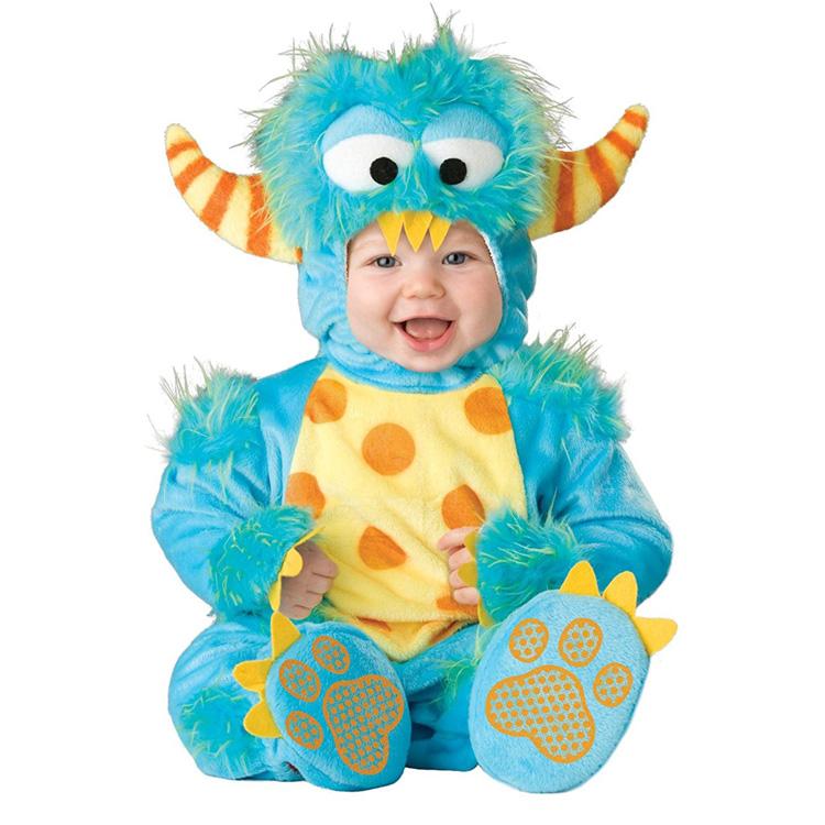 めっちゃかわいい赤ちゃん用着ぐるみ『リトルモンスター』