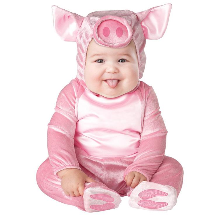めっちゃかわいい赤ちゃん用着ぐるみ『リトルピギー♪子豚ちゃん』