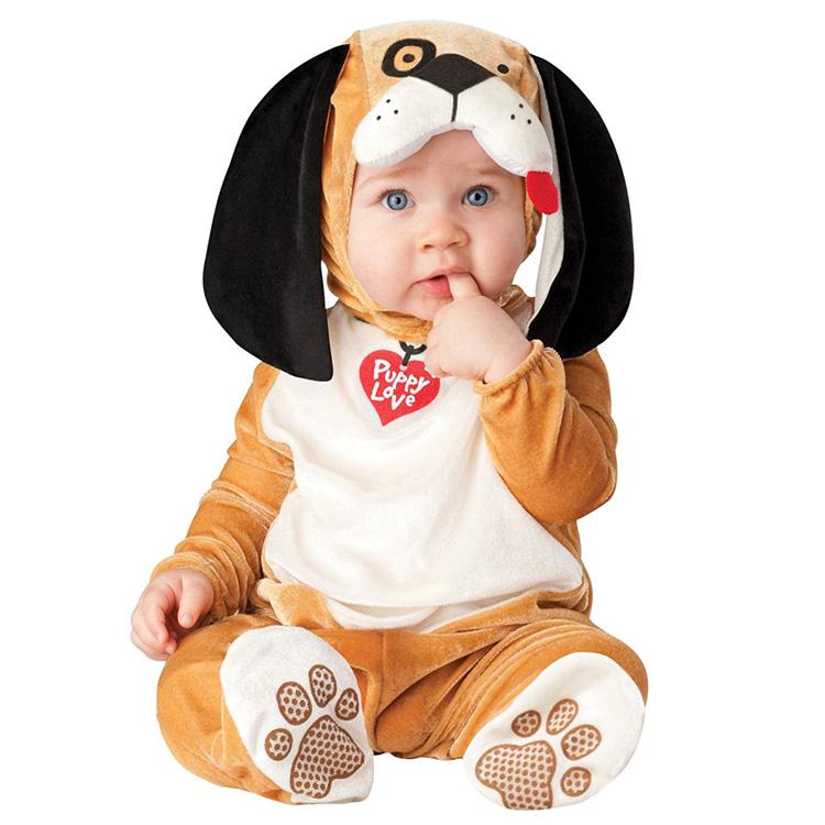 めっちゃかわいい赤ちゃん用着ぐるみ『パピー・子犬』