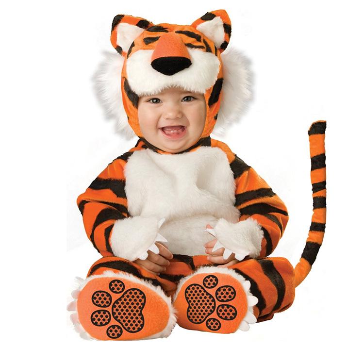 めっちゃかわいい赤ちゃん用着ぐるみ『ベイビータイガー・トラ』