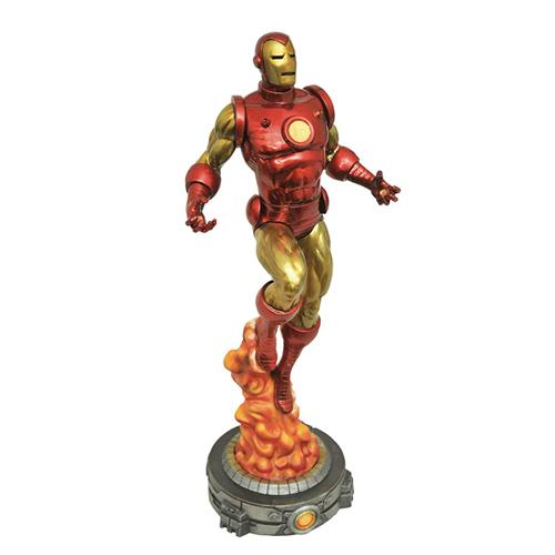 マーベルコミック『アイアンマン 』 28cm フィギュア Classic Iron Man PVC Figure Statue