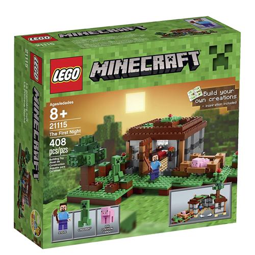 レゴマインクラフト21115 LEGO Minecraft The First Night