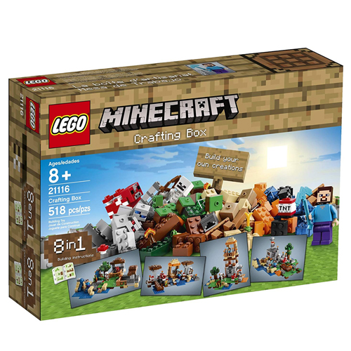 レゴマインクラフト21116 LEGO Minecraft Crafting Box