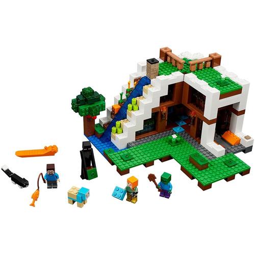 レゴマインクラフト21134 LEGO Minecraft The Waterfall Base