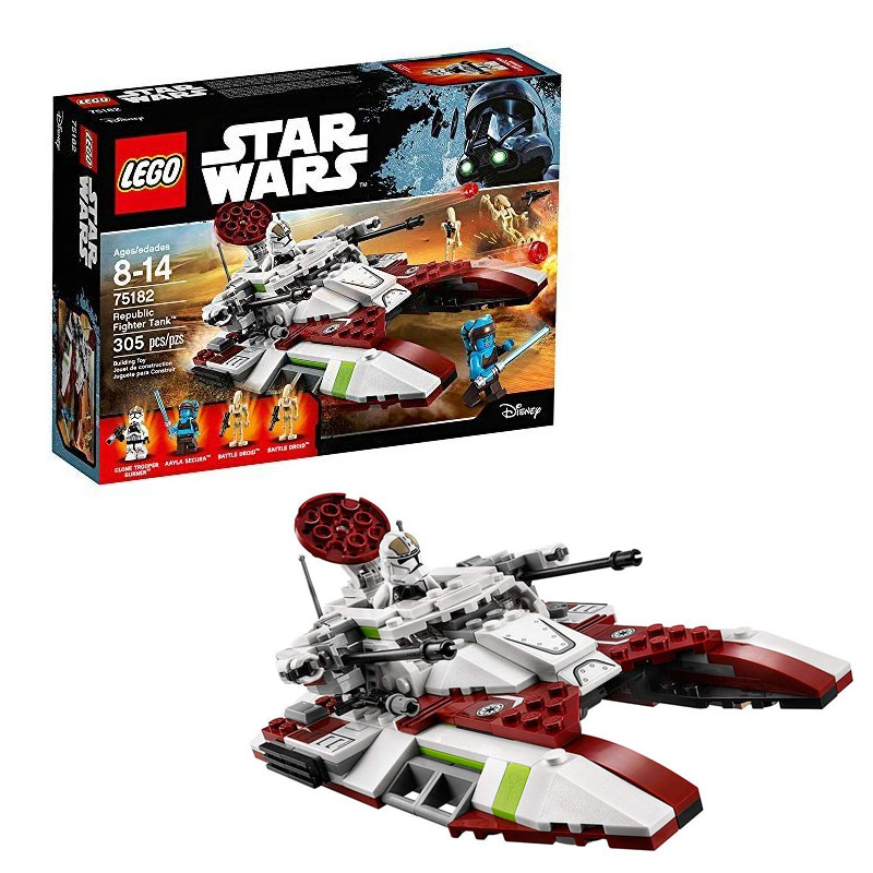 レゴ スター・ウォーズ リパブリック ファイター タンク LEGO Star Wars Republic Fighter Tank 75182 Building Kit 305pieces