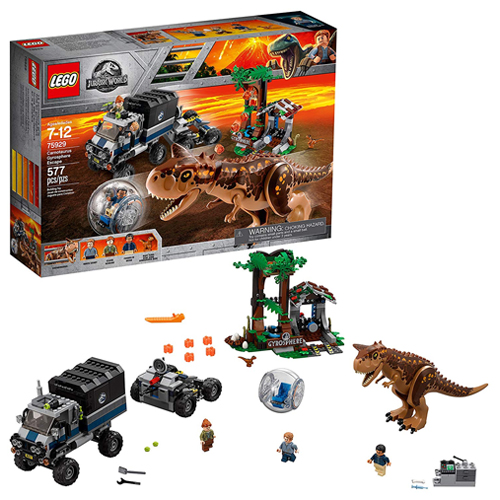 レゴジュラシックワールド75929 LEGO Jurassic World Carnotaurus Gyrosphere Escape