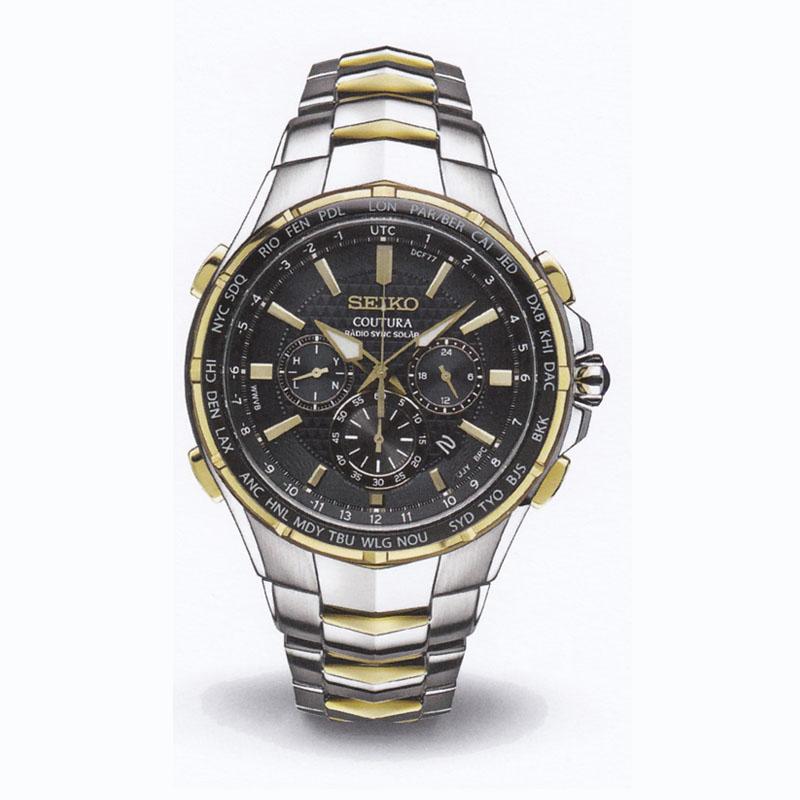 SEIKOセイコー メンズ腕時計 クロノグラフ COUTURA SSG010