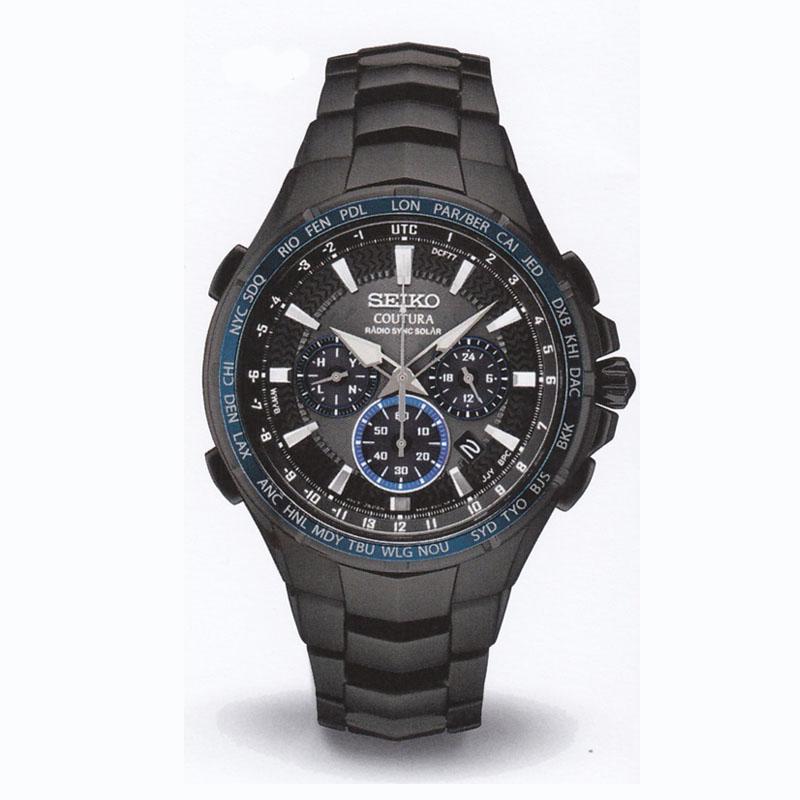 SEIKOセイコー メンズ腕時計 クロノグラフ COUTURA SSG021