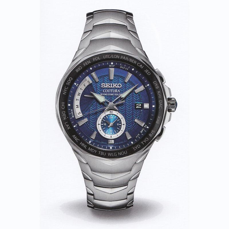 SEIKOセイコー メンズ腕時計 クロノグラフ COUTURA SSG019