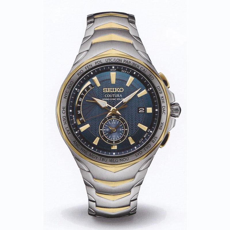 SEIKOセイコー メンズ腕時計 クロノグラフ COUTURA SSG020