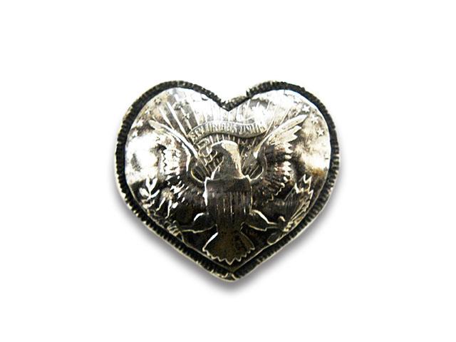 【CHOOKE/チョーク】「Eagle Heart Kennedy Pins/イーグルハートケネディーピンズ」(C-29D)【送料・代引き手数料無料】【あす楽対応】(アメカジ/ハーレー/オールドコイン/ネイティブアクセサリー)