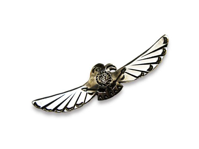 【CHOOKE/チョーク】「Satiety Bird Bar Pins/サーティエティーバードバーピンズ」(C-31A)【送料・代引き手数料無料】【あす楽対応】(アメカジ/ハーレー/オールドコイン/ネイティブアクセサリー)
