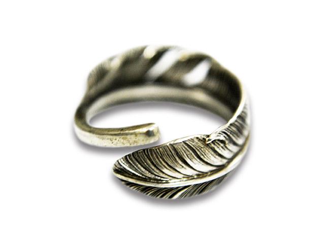 【CHOOKE/チョーク】「Half Dollar Feather Ring/ハーフダラーフェザーリング」【送料・代引き手数料無料】【あす楽対応】(オールドコイン/アンティークコイン/アメカジ/ハーレー)