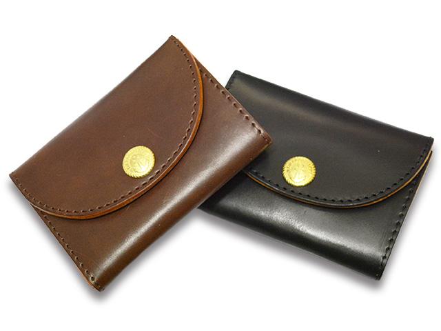全2色【DRESS HIPPY/ドレスヒッピー】「Cordovan Coin Case/コードバンコインケース」【送料・代引き手数料無料】【あす楽対応】(NO NAME/AT DIRTY/アットダーティー/神戸/ノーネーム/アメカジ/ハーレー/バイカー)