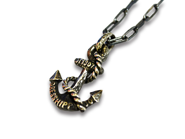 【DRESS HIPPY/ドレスヒッピー】「Anchor Necklace/アンカーネックレス」【送料・代引き手数料無料】【あす楽対応】(NO NAME/AT DIRTY/アットダーティー/神戸/NO NAME/ノーネーム/アメカジ/ハーレー/ホットロッド/プレゼント)