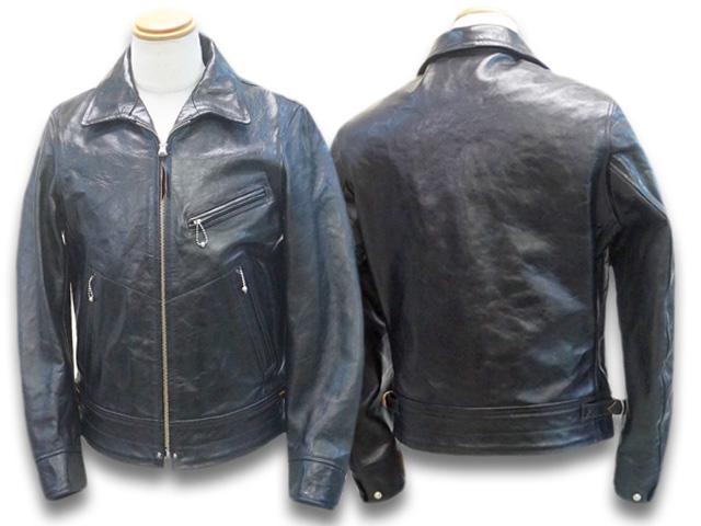 """【FREE WHEELERS/フリーホイーラーズ】「30's Motorcycle Jacket Single Type""""MULHOLAND""""/30'sモーターサイクルジャケットシングルタイプ""""マルホランド""""」(1931001)【あす楽対応】(アメカジ/ハーレー/ホットロッド/WOLF PACK/ウルフパック)"""