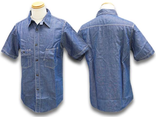 """【FREE WHEELERS/フリーホイーラーズ】2020SF「1920~1940s Style Short Sleeve Work Shirts""""THE IRONALL FACTORIES CO.""""Cincinnati,Ohio/ショートスリーブワークシャツ」(2023010)【あす楽対応】(アメカジ/アウトドア/ハーレー/ホットロッド)"""