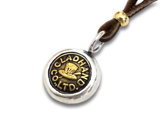 """【GLAD HAND/グラッドハンド】「Button Charm""""Hat Small""""/ボタンチャーム""""ハットスモール""""」【送料・代引き手数料無料】【あす楽対応】(GANGSTERVILLE/ギャングスタービル/WEIRDO/ウィアード/アメカジ/アクセサリー/プレゼント)"""