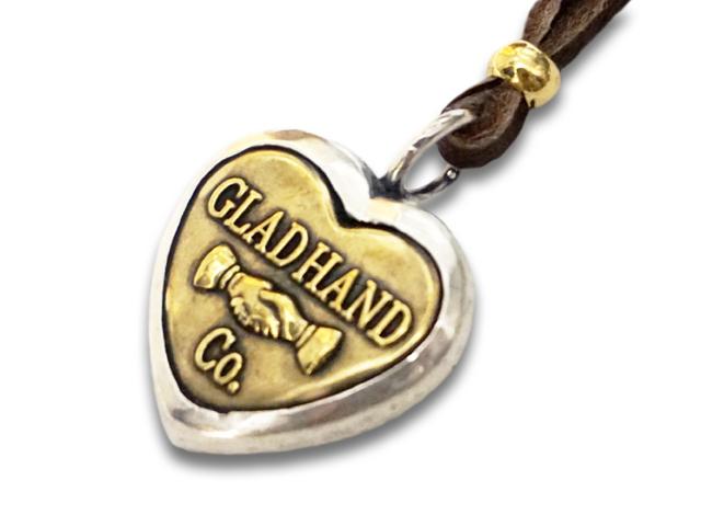 """【GLAD HAND/グラッドハンド】「Button Charm""""Heart Large""""/ボタンチャーム""""ハートラージ""""」【送料・代引き手数料無料】【あす楽対応】(GANGSTERVILLE/ギャングスタービル/WEIRDO/ウィアード/アメカジ/アクセサリー/プレゼント)"""