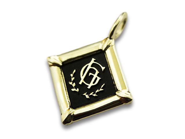 【GLAD HAND/グラッドハンド】「Fob Pendant Top/フォブペンダントトップ」(K10 Gold)【送料・代引き手数料無料】【あす楽対応】(GANGSTERVILLE/ギャングスタービル/WEIRDO/ウィアード/アメカジ/アクセサリー/プレゼント)