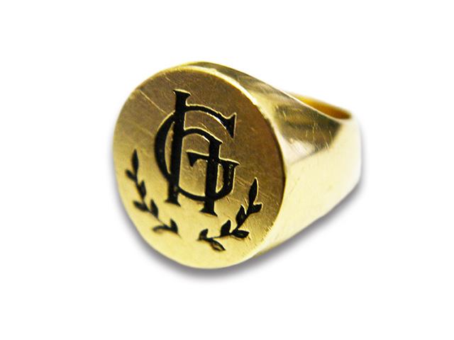 【GLAD HAND/グラッドハンド】「Plain Ring/プレーンリング」(K10)【送料・代引き手数料無料】【あす楽対応】(GANGSTERVILLE/ギャングスタービル/WEIRDO/ウィアード/アメカジ/アクセサリー/プレゼント)